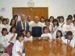 サイパン市長への表敬訪問