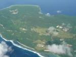 空から見たサイパン島