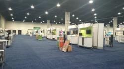 開催前のShowcase会場内部